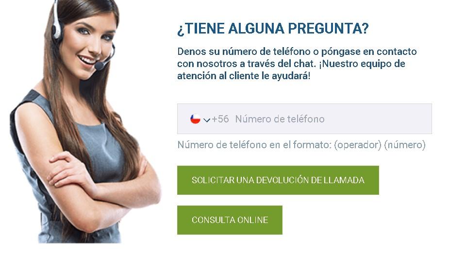 1xBet licencia Chile